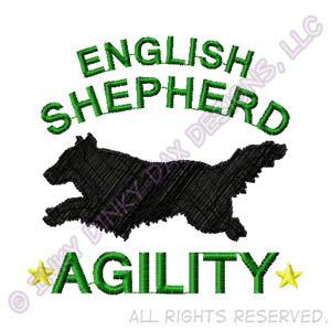 English Shepherd Embroidered Apparel