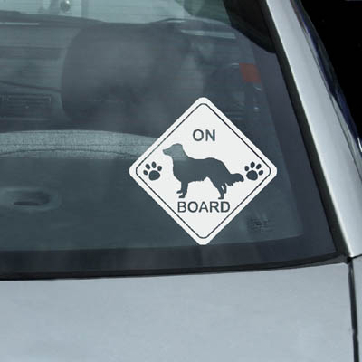 English Shepherd On Board Decals