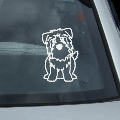Glen of Imaal Terrier Decals