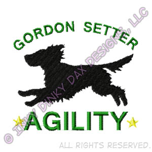 Gordon Setter Agility Apparel
