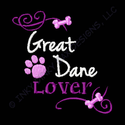 Embroidered Great Dane Shirts