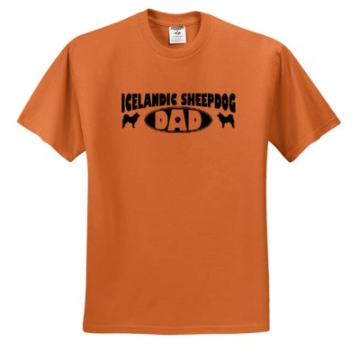 Icelandic Sheepdog Dad T-Shirt