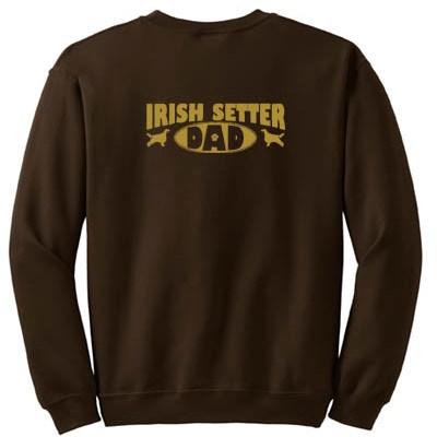 Irish Setter Dad Sweatshirt