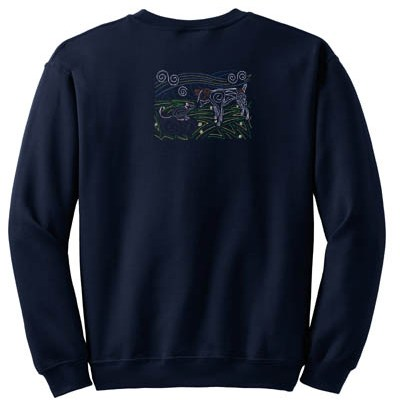 Jack Russell Terrier Embroidered Sweatshirt