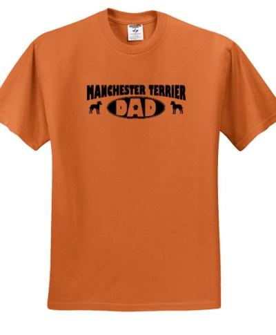 Manchester Terrier Dad T-Shirt