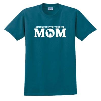 Manchester Terrier Mom T-Shirt