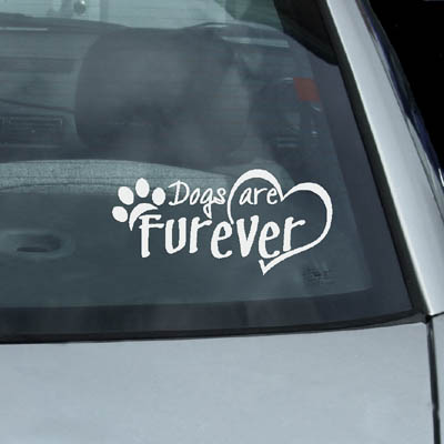 Dogs are Furever Decal