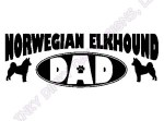 Norwegian Elkhound Dad Gifts