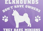 Funny Norwegian Elkhound Stickers