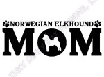 Norwegian Elkhound Mom Gifts