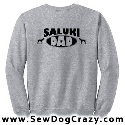 Saluki Dad Sweatshirt