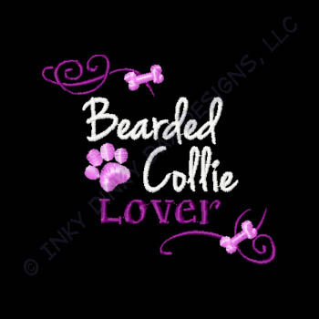 Pretty Bearded Collie Apparel