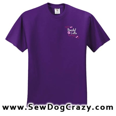 Embroidered Bearded Collie TShirt