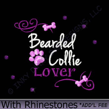 Pretty Bearded Collie Shirts