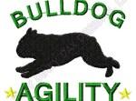 Agility English Bulldog Embroidery