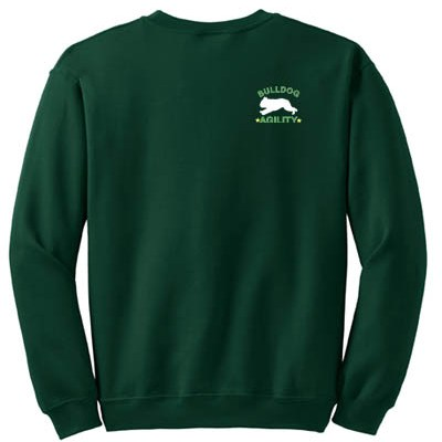 English Bulldog Agility Sweatshirt