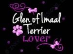 Rhinestones Glen of Imaal Terrier Embroidery