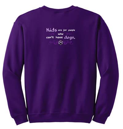 Funny dog lover sweatshirt