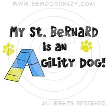 St Bernard Agility Shirts