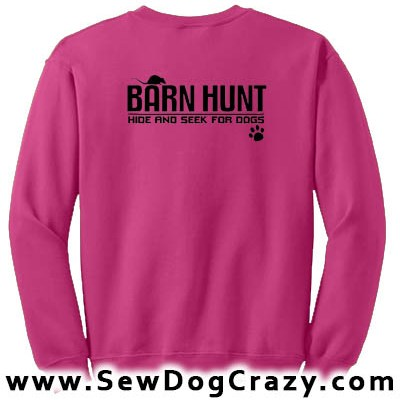 Barn Hunt Sweatshirt