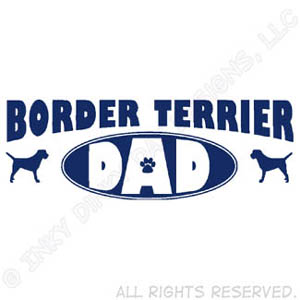 Border Terrier Dad Gifts