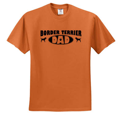 Border Terrier Dad T-Shirt