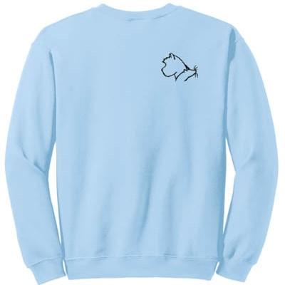 Embroidered Cairn Terrier Earthdog Sweatshirt
