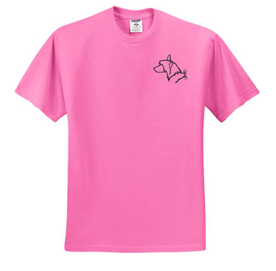 Chinese Crested Barn Hunt T-Shirt