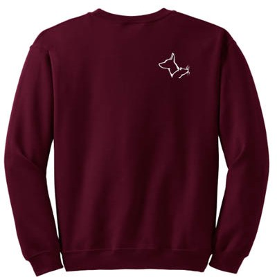 Rat Terrier Barn Hunt Sweatshirt