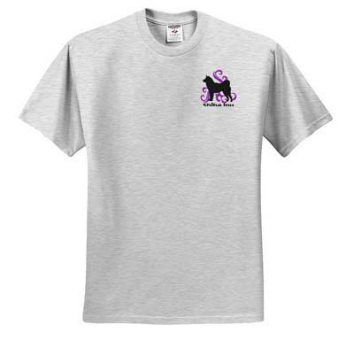 Embroidered Shiba Inu T-Shirt