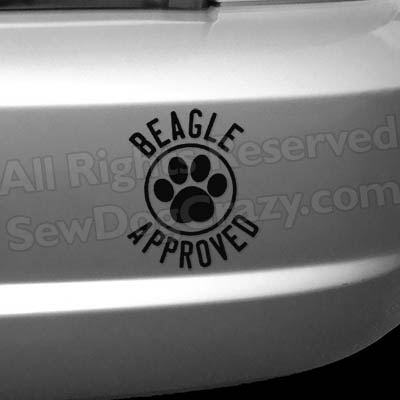 Beagle Approved Decals