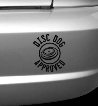 Disc Dog Approved Decal