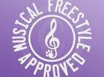 Musical Freestyle Dog Decal