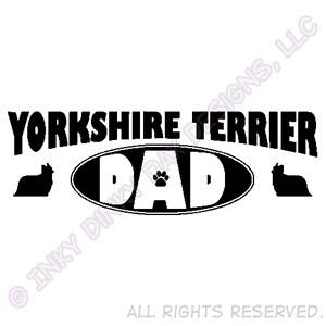 Yorkshire Terrier Dad Apparel