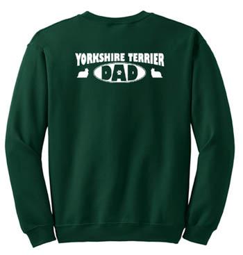 Yorkshire Terrier Dad Sweatshirt