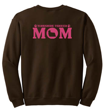 Yorkshire Terrier Mom Sweatshirt