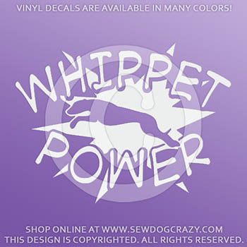 Whippet Power Decals