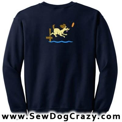 Cartoon Dock Diving Sweatshirts