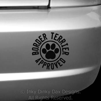 Border Terrier Decals