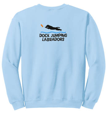 Dock Jumping Labrador Retriever Sweatshirt