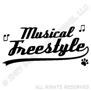 Canine Musical Freestyle Apparel