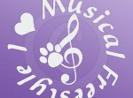 Canine Musical Freestyle Decals