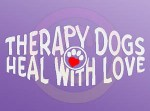 Therapy Dog Decals