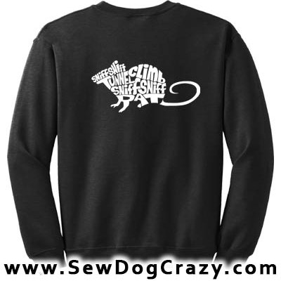 Barn Hunt Rat Sweatshirt