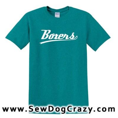 Boxer dog Baseball Tshirt