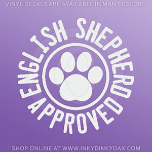 English Shepherd Decals
