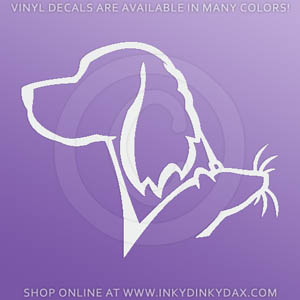 Gordon Setter Ratting Decals