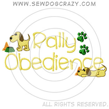 Cute Rally Obedience Apparel
