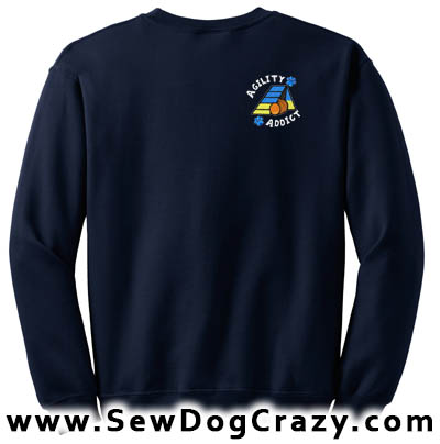 A-frame Dog Agility Addict Sweatshirt