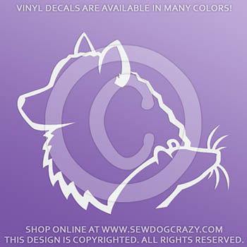 American Eskimo Dog Barn Hunt Stickers